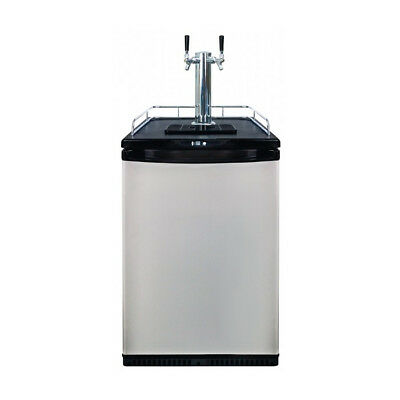 Mangrove Jacks Kegerator - Twin Chrome Plated Tap / ABS Font Included