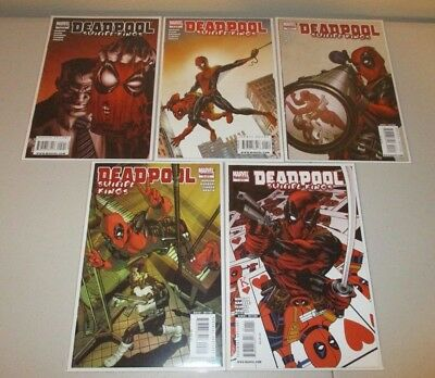 Deadpool Suicide Kings  #1-5   (Complete Marvel 2009 Series)  VF+ 1st Prints