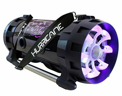 Blackpanthercity HURRICANE SOUND FLASHING LED Enceinte Bluetooth Rechargeable 30