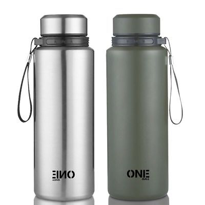 33.8 Oz Stainless Steel Vacuum Thermos - Portable Insulated Travel Flask Bottle