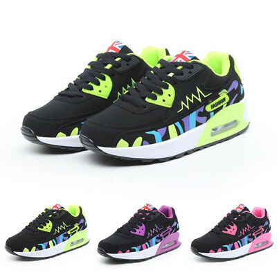 New Women Running Trainers Walking Jogging Shock Absorbing Outdoor Sports Shoes