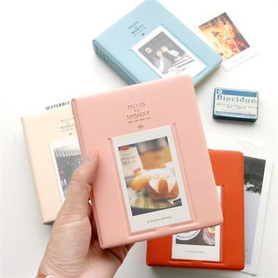 64 Pockets Photo Album For FujiFilm Instax Mini Polaroid Fuji Film Camera FW