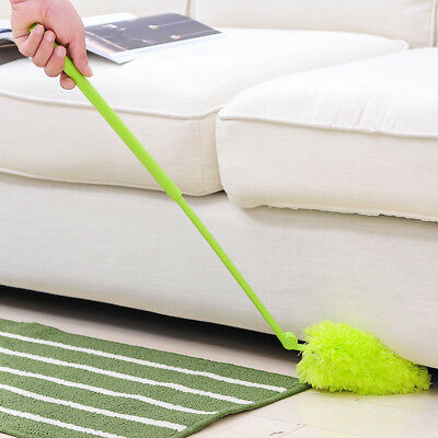 Telescopic  Duster Handle Extendable Magic Feather Brush Cleaning Home