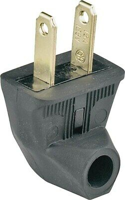 Flat Rubber Cap Side Outlet Cord Plug, PartNo 84BKBX, by Cooper Wiring Devices I