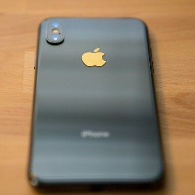 iPhone Apple Sticker - Logo Overlay and Cover for 5 5S 5SE 6 6S 7 8 And iPhone X