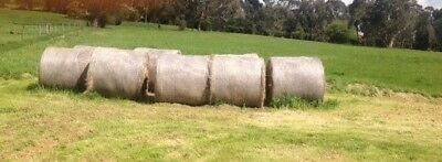 4' x 4' Round Hay Bales weed-free 100 available baled Jan 2017 Postcode 3139