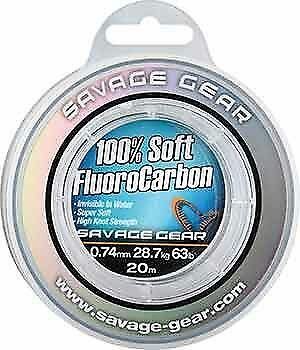 SAVAGE GEAR Soft Fluoro Carbon Line