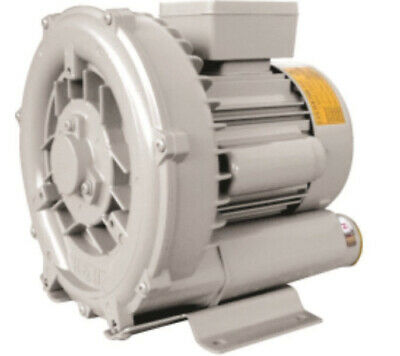 Regenerative Blower HRB-101 1 Phase 0.4KW 0.5HP Ring Blower Vacuum & Pressure