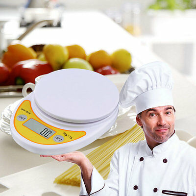 WH-B04 5kg/1g LCD Digital Electronic Kitchen Scale for Food Balance Weighing#H