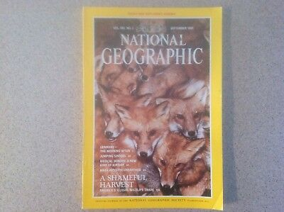 National Geographic Vol. 180, No.3, September 1991