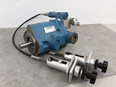 Vickers Hydraulic Variable Delivery Pump PVQ10-A2R-SS1S-20-C21-12 Remote Cont. C