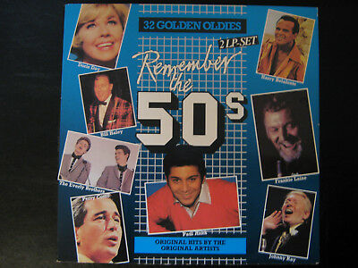 REMEMBER THE 50'S - Compilation, Gatefold