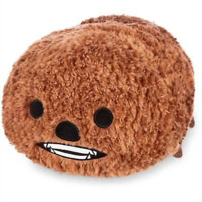 "Disney Store Chewbacca Tsum Tsum Large 18"" Pillow Plush Star Wars Toy RETIRED"