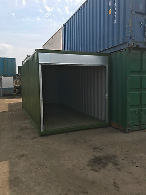 20ft x 8ft Roller Shutter Storage Container - Felixstowe