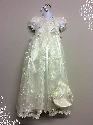 Job Lot Of New Christening Gowns, Rompers, Suits & Accessories