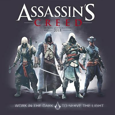 Assassin's Creed Official 2018 Square Wall Calendar