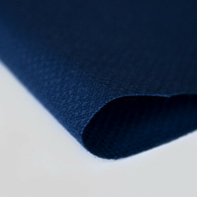 ZWEIGART 14 count AIDA Cross Stitch Fabric  NAVY BLUE   12 inches x 10 inches