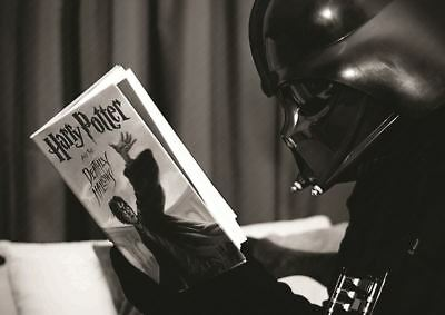 Harry Potter Darth Vader Print Art Poster Picture A3 Size Gz1614