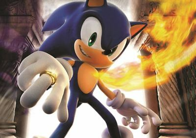 Sonic The Hedgehog Print Art Poster Picture A3 Size Gz1830
