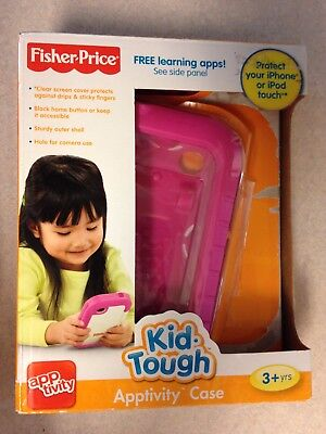 Fisher Price Kid-Tough Apptivity Case for iPhone & IPod Touch Pink 3+ NEW defect