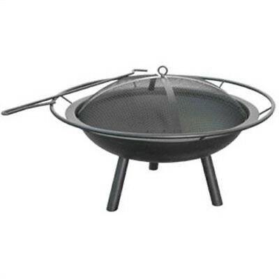 The Halo Steel Fire Pit, by LANDMANN, (The Halo Fire Pit from Landmann USA feat)