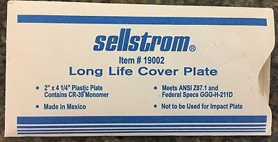 Sellstrom Item#19002,  Long Life Cover Plate (10 in a lot)