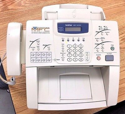 Brother MFC-8500 Laser Multifunction Center: Fax, Copy, Scan, Print, PC Fax