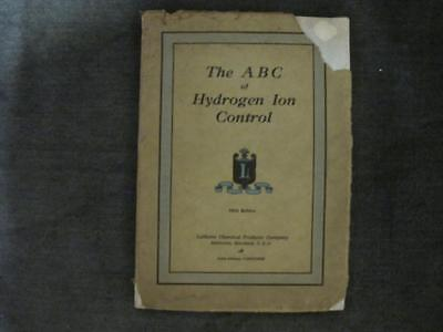 LaMotte Chemical 1929 Catalog 5th Ed - ABC of Hydrogen Ion Control Illustrated
