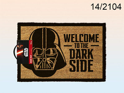 Fußmatte Star Wars – Welcome to the dark side 60 cm x 40 cm Kokosfaser