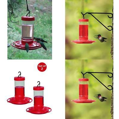 Hummingbird Feeder 16-Ounce Nectar Capacity First Nature 3051 2 Pack