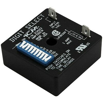 ICM Controls ICM103 ICM103B Delay On Make Timer Relay 18-240 VAC 1-1023 Seconds