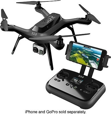 NEW 3DR SOLO SMART DRONE QUADCOPTER for GoPro Action Camera in Retail Box SA11A