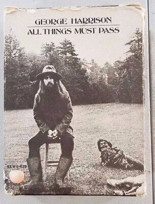 George Harrison All Things Must Pass Double 8 Track V11