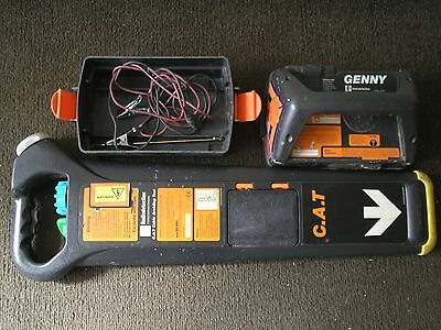cat genny mk2 radiodetection cable avoidance detector 33kz locator clean tidy
