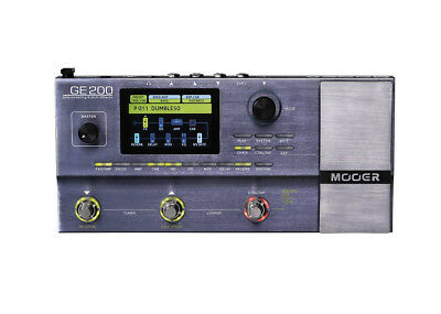 Mooer Audio GE200 Amp Modeling & Multi-Effects
