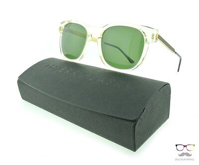 Thierry Lasry Sunglasses Authority 995 Buff / Green Lenses Designer