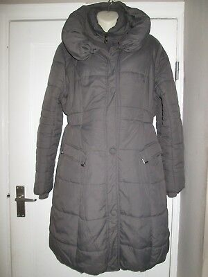 Lovely Size 14-16 Mamalicious Waterproof Maternity Coat See Pics!!