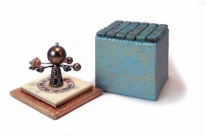 Miniature Mosaic Orrery - Bo Press Miniature Books