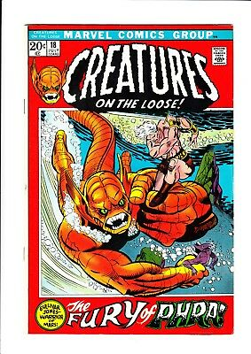 Creatures On The Loose (9 Issue Lot - #18,19,20,23,24,25,27,28,29) - Marvel 1971