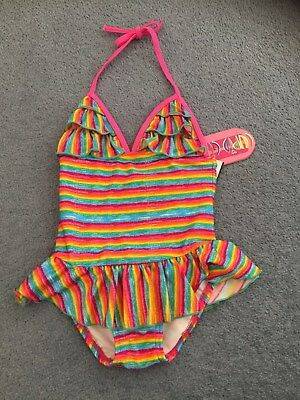 baby girl swimsuit size 1 NEW with tags ,swimwear ,one piece swimmers