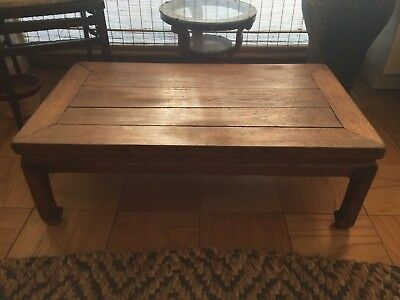 Authentic Chinese Wood Coffee Table