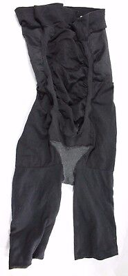 Spanx 163 Power Mama Maternity Mid Thigh Shaper Size D Black