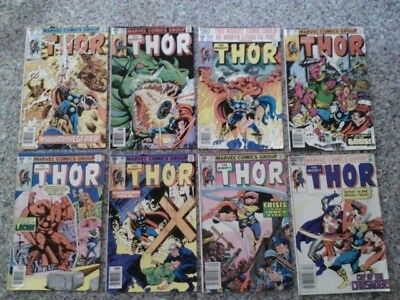 Marvel Comics Group The Mighty Thor #297-299 301-303 311 330 Lot of 8 Comics