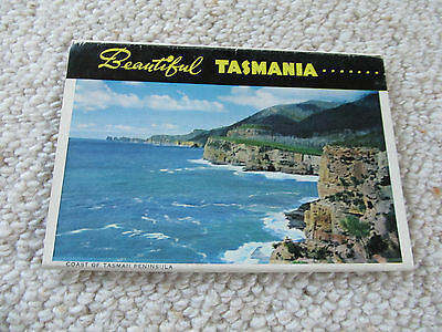 Vintage John Sands Foldout Colour View Folder - Beautiful Tasmania