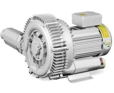 Regenerative Blower HRB-102 Double Stage 3 Phase Ring Blower Vacuum & Pressure