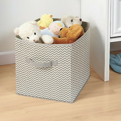 Nursery Closet Organizer Cube Stuffed Animals Toys Blankets Storage Fabric New