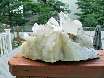 Large Exceptional and Beautiful Arkansas Crystal Cluster-Very Large-12 lb 11.3oz