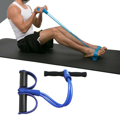2 Tube Resistance Training Provides Pull Up Exercise Pedal Exerciser Body