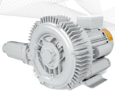 Regenerative Blower HRB-202/1 2-Stage 1-phase Ring Blower Vacuum & Pressure