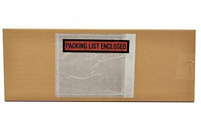 """Packing List Enclosed"" Envelopes, 4.5"" x 5.5"", Panel Face, 36000/cs"